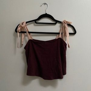 UO Out from Under Soft Feel Cropped Tank